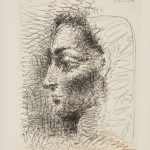 Pablo Picasso, Retrato de Jacqueline, 1956