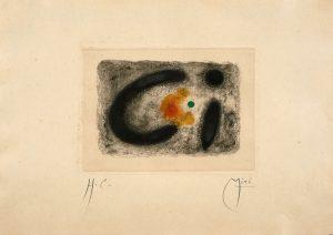 Joan Miro, Fusee (1 planche), 1959