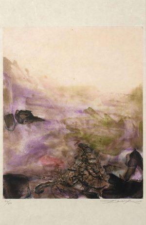 Zao Wou-Ki, Gravure 222, 1972