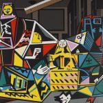 Equipo Crónica, Interior con regla (Serie Composiciones), 1971