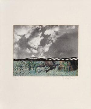 Invertir en Arte - Roy Lichtenstein, Fish and Sky, from Ten from Leo Castelli portfolio, 1967