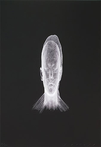 Jaume Plensa. Lumiere invisible (Mar), 2018