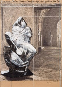 Christo. Wrapped Statues (Sleeping Faun). 2000