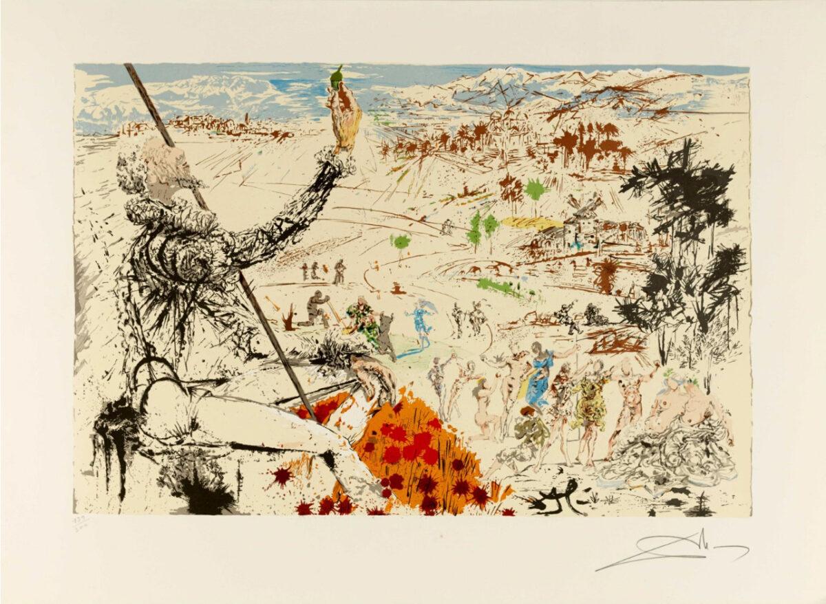 Salvador Dalí, La edad de oro, 1956-1957