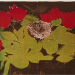 Donald Sultan, Flowers, 1986, detail 2