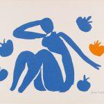 Henri Mattise. Nu bleu aux pommes, c. 1954