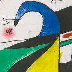 Joan Miró. Gaudí X, 1979, detail