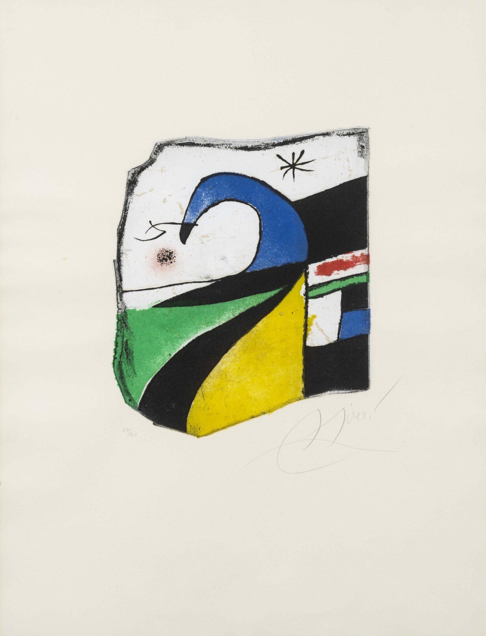 Joan Miró. Gaudí X, 1979