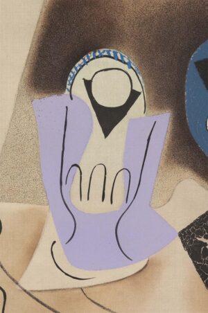 Pablo Picasso (d'apres, Crommelynck), Le verre d'absinthe, 1972, detail 1