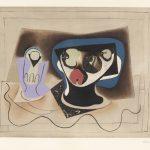 Pablo Picasso (d'apres, Crommelynck). Le verre d'absinthe, c. 1970