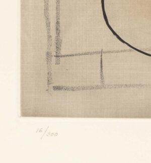 Pablo Picasso (d'apres, Crommelynck), Le verre d'absinthe, c1970, edition