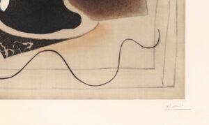 Pablo Picasso (d'apres, Crommelynck), Le verre d'absinthe, c1970, signature