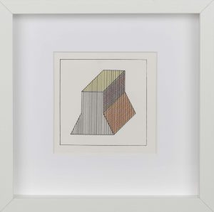 Sol Lewitt. Twelve forms derived from a cube, 1984, 3Sol Lewitt. Twelve forms derived from a cube, 1984, 2