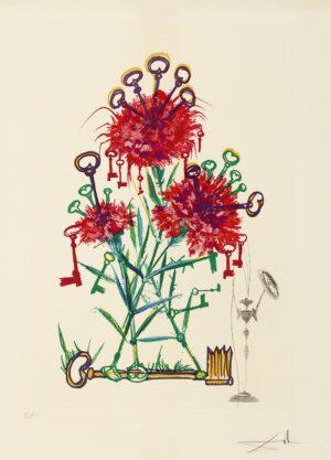 Salvador Dalí. Surrealistic Flowers or Florals, 1972, 2 image