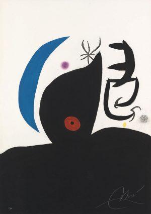 Joan Miró. L'Otarie Savante, 1978