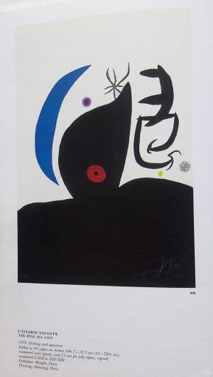 Joan Miró. L'Otarie Savante, 1978, edition 2
