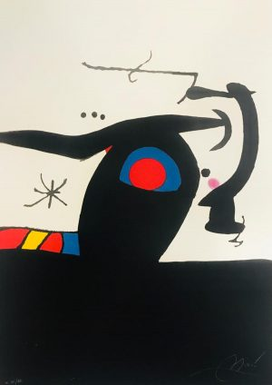 Joan Miró. Le Tambour major, 1978
