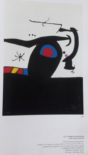 Joan Miró. Le Tambour major, 1978, edition 2