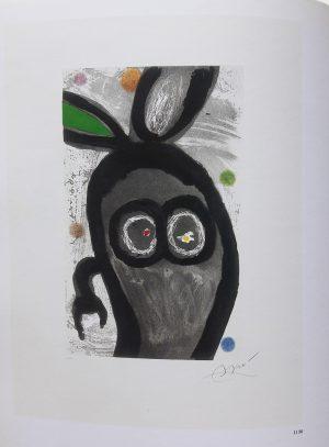 Joan Miró. Le roi des lapins, El rey de los conejos, 1981