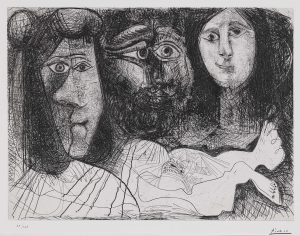 Picasso. La chute d'Icaro, 1972