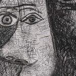 Pablo Picasso. La chute d'Icaro, 1972_detail