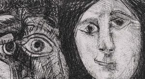 Pablo Picasso. La chute d'Icaro, 1972_detail 2