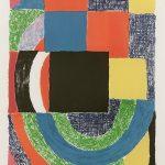 Sonia Delaunay Carreau noir, 1969