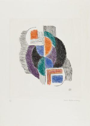 Sonia Delaunay. Terk Composition, 1964