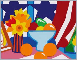 Tom Wesselmann. Still Life with Red Blowing Curtain, 1999