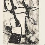 Joan Miró. Les Saltimbanques, 1975, 1_detail