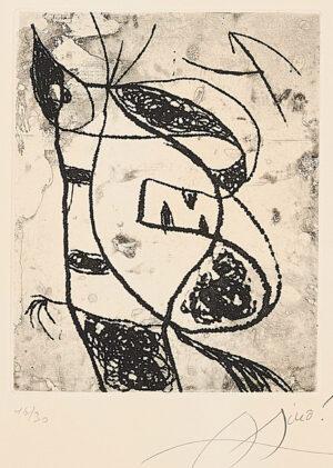 Joan Miró. Les Saltimbanques, 1975, 3_detail