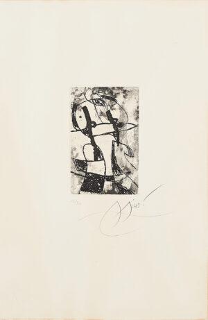 Joan Miró. Les Saltimbanques, 1975_1