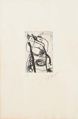 Joan Miró. Les Saltimbanques, 1975_2