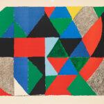 Sonia Delaunay. Composition horizontale, ca. 1975