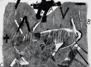 Antoni Tapies, Lletres i gris, 1976