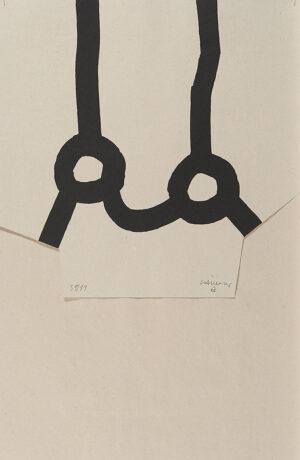 Eduardo Chillida, Homage à Joan Prats, 1975