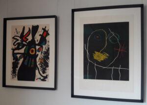Joan Miró, Montroig and Le prophète de la nuit