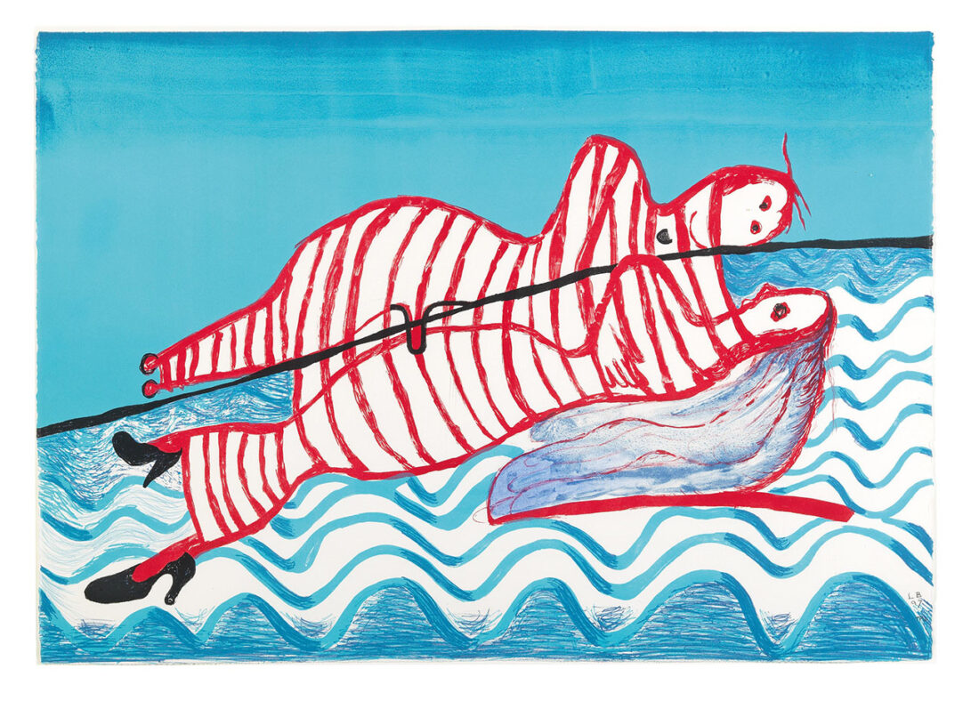 Louise Bourgeois, Hamlet and Ophelia, 1997