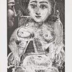 Pablo Picasso, Portrait de Jacqueline au Fauteuil, 1966