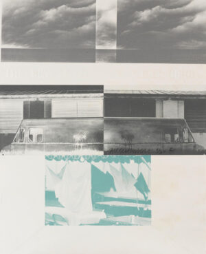 Robert Rauschenberg, American Pewter with Burroughs I, 1981