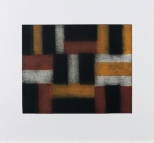 Sean Scully, Wall of light - blue, 2000