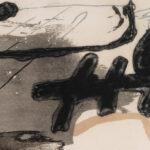 Antoni Tàpies, Untitled, 1981, detail