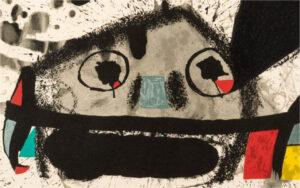 Joan Miro, Barcelona II, Un cami compartit, 1975, detail