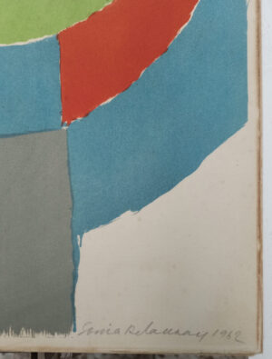 Sonia Delaunay, Rythmes colores, 1962, detail 1