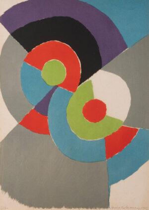 Sonia Delaunay, Rythmes colores, 1962