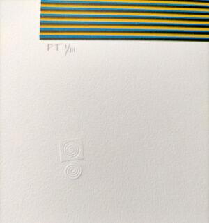 Carlos Cruz-Díez, Color aditivo 2, Medellín Series, 2013, edition