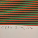 Carlos Cruz-Díez, Color aditivo 3, Medellín Series, 2013, signature and date