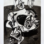Juan Barjola, Caída del caballo, 1994
