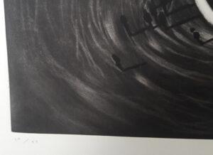 Juan Genovés. Sin título I (Espiral) (Untitled I (Spiral), 1992, edition