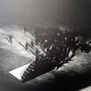 Juan Genovés. Sin título II (Untitled II), 1992, detail